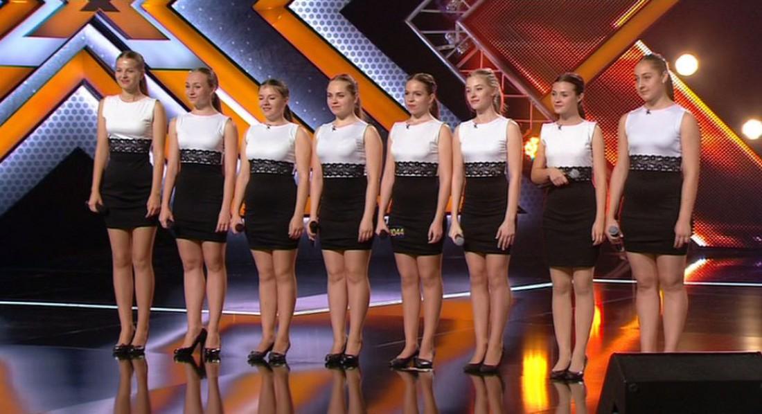 Х-фактор 7 сезон 8 выпуск: девушки приехали из Днепропетровской области