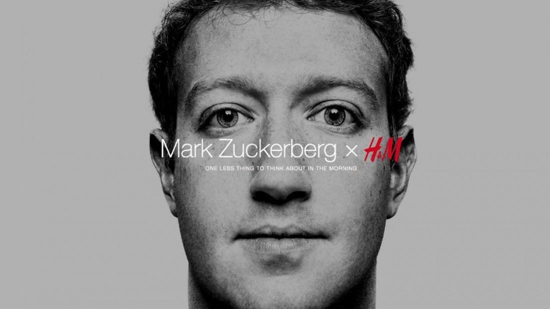 Марк Цукенберг в коллаборации с H&M