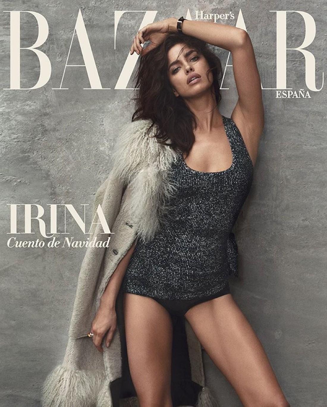 Ирина Шейк в новой фотосессии для Harper's Bazaar
