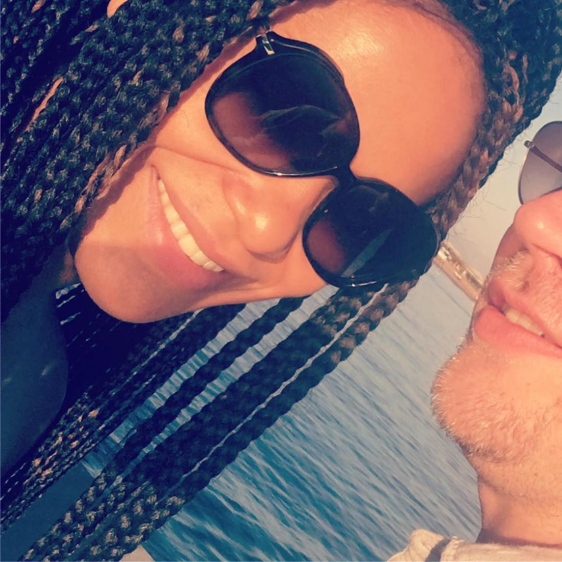 Гайтана с мужем