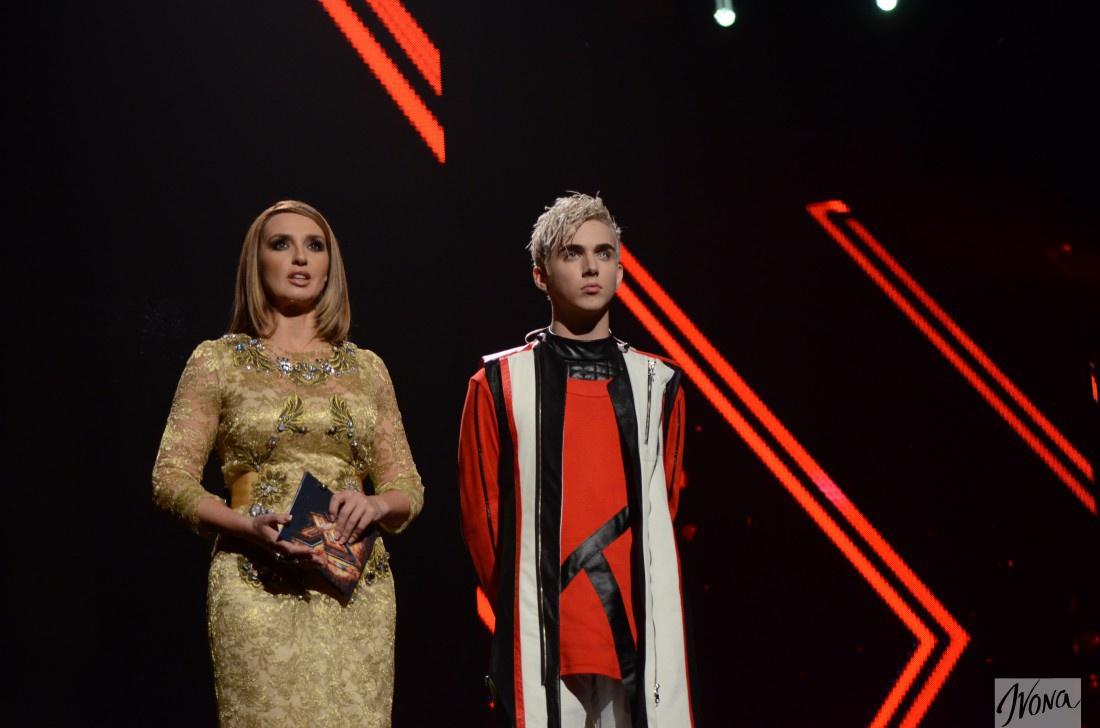 Оксана Марченко и Костя на шоу Х-фактор 6
