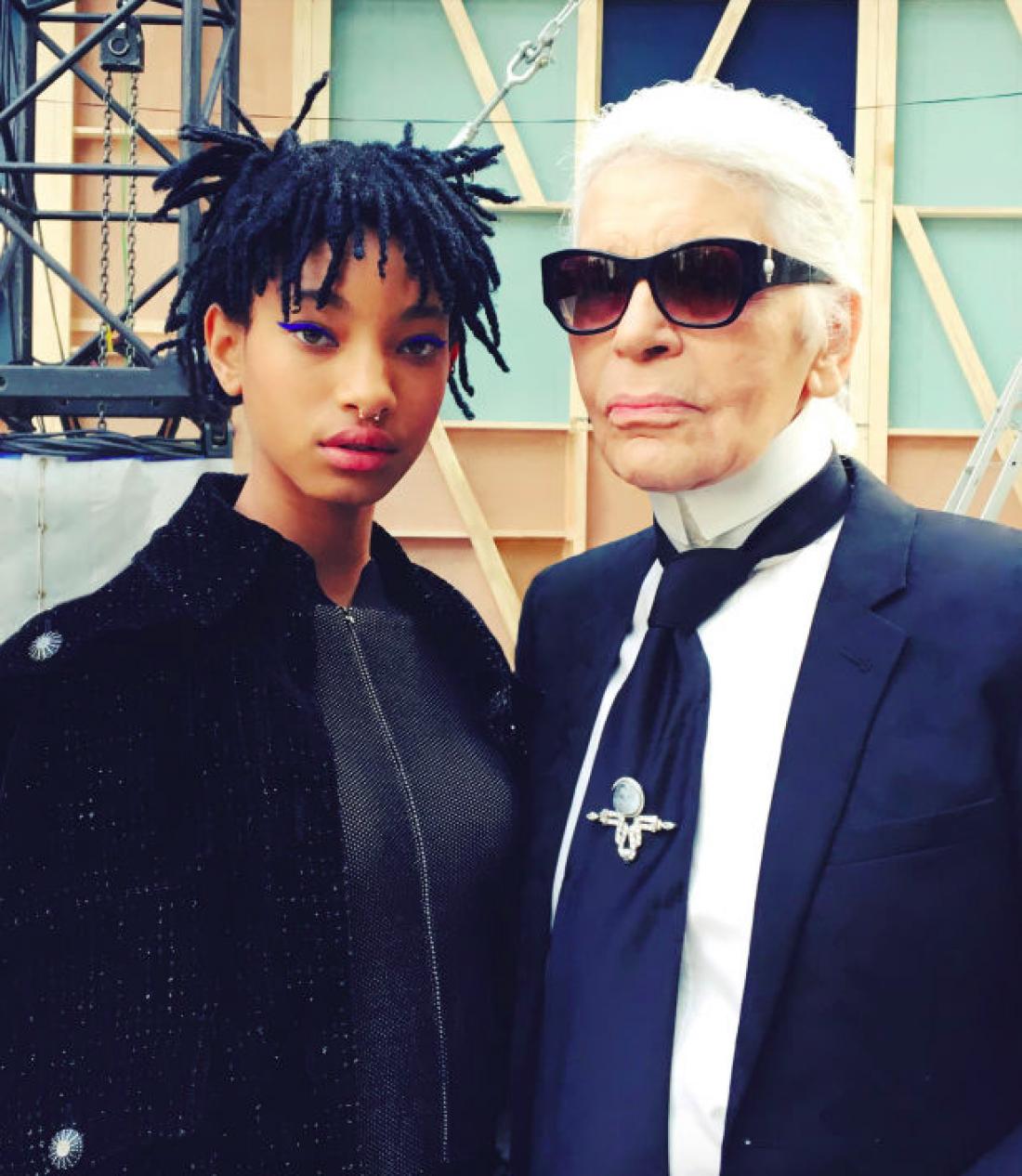 Дочь Уилла Смита стала послом Chanel