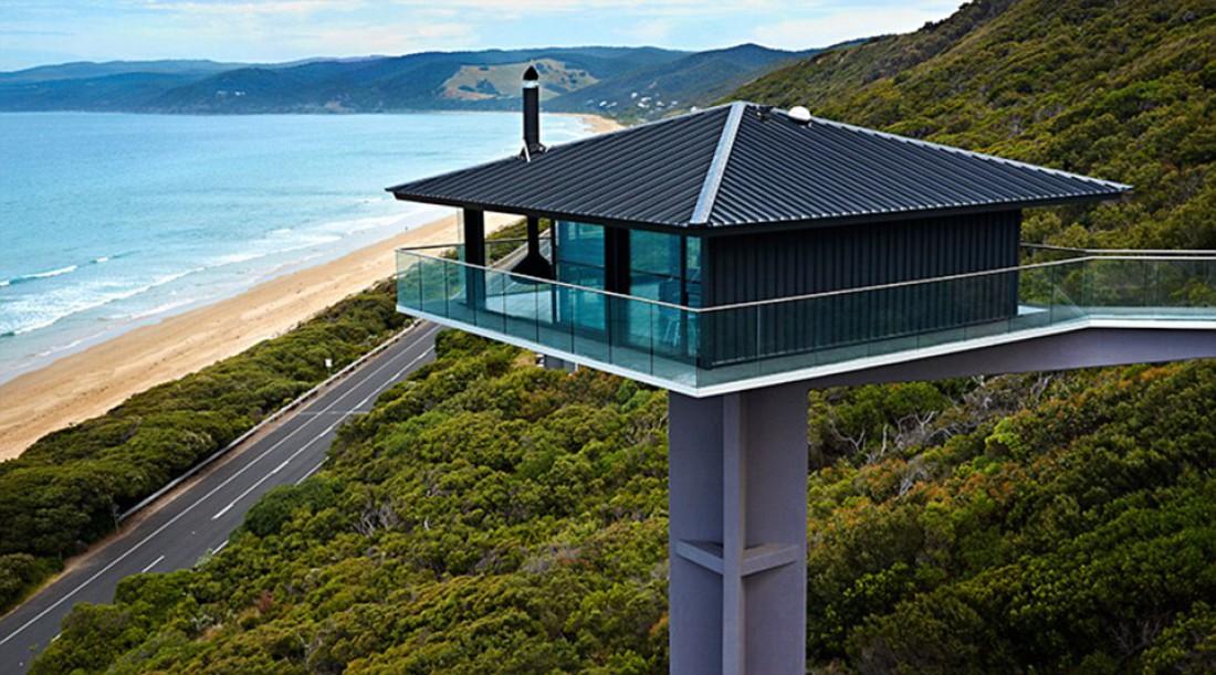 Стеклянный дом в Австралии