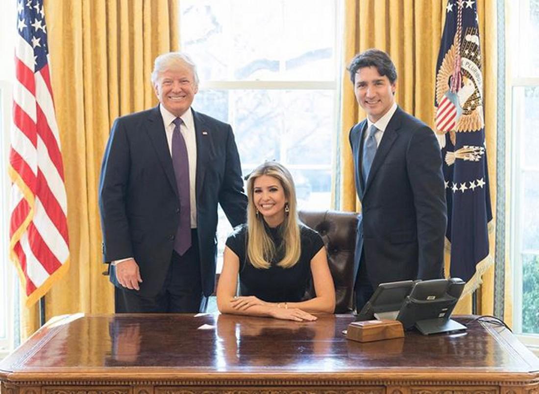 Иванка в Белом доме