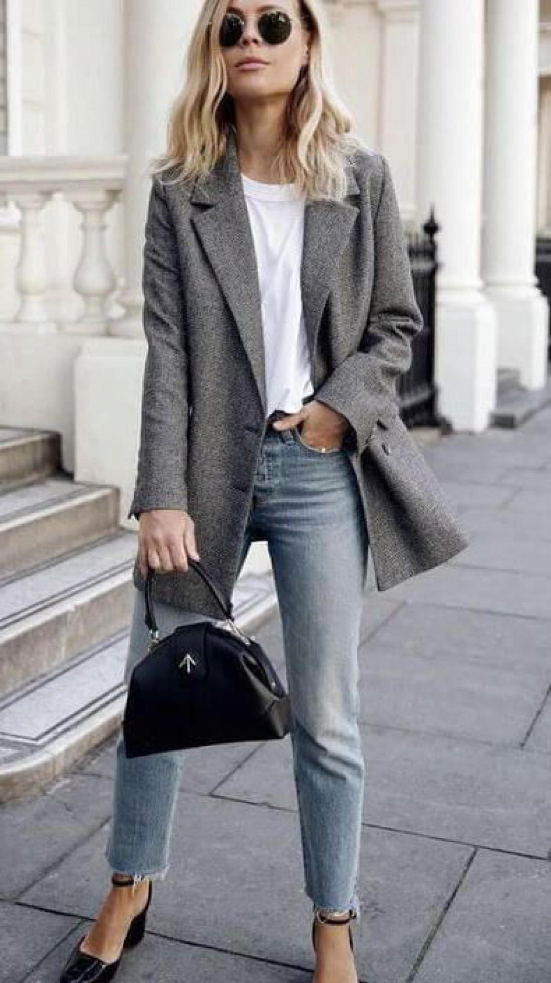 Тренды 2019: Что носить с джинсами на работу или учебу
