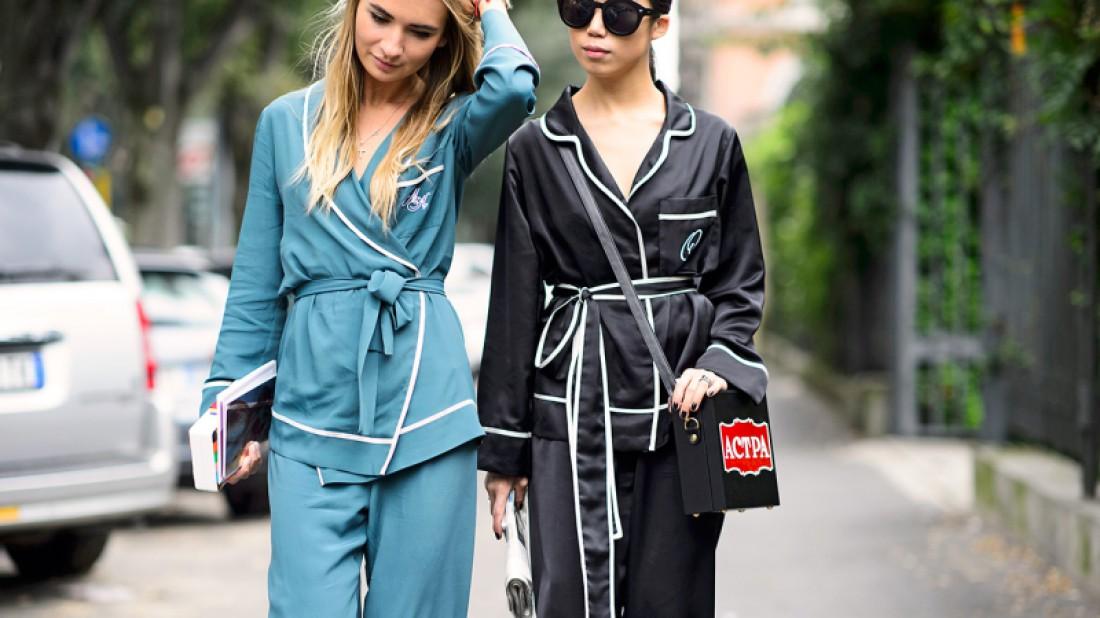 Пижама – новый тренд уличного стиля