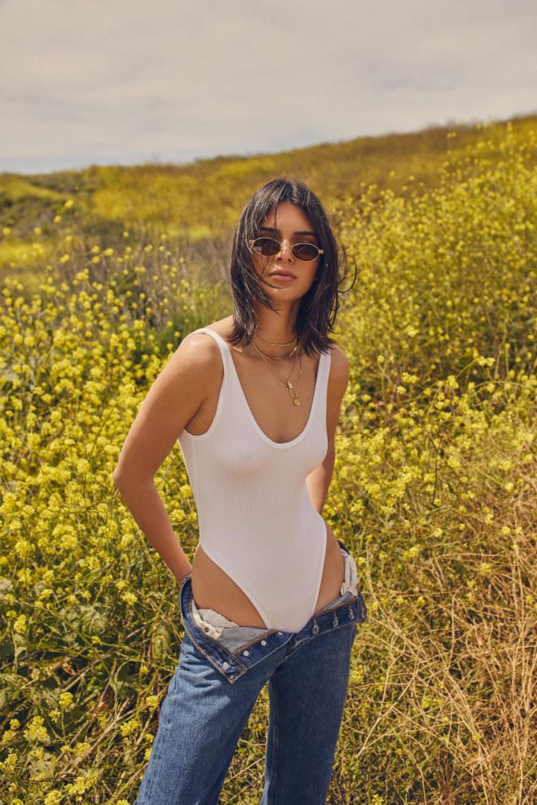 Кендалл Джененр в новой рекламной кампании бренда Kendall + Kylie