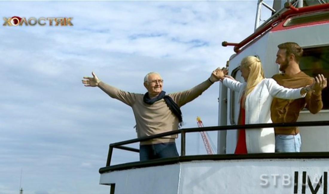 Холостяк 6 смотреть одиннадцатый выпуск: папа Иракли прокатился с молодыми людьми на корабле