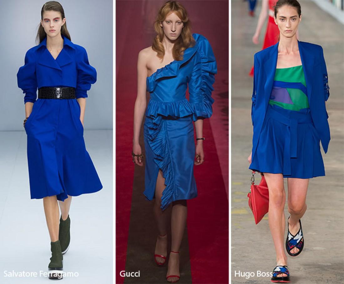 Модные цвета 2017 года