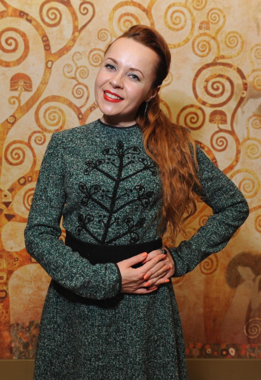 Телеведущая Таня Гончарова