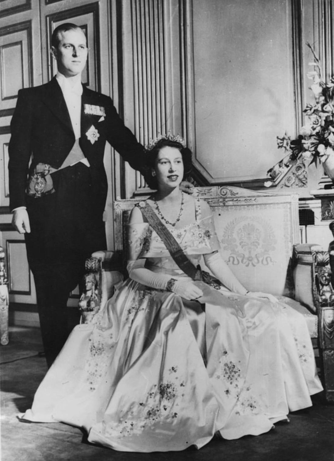 Королева Елизавета II и принц Филип, 1952 год