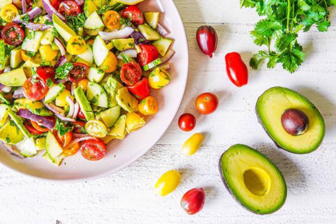 Салат с авокадо по-техасски