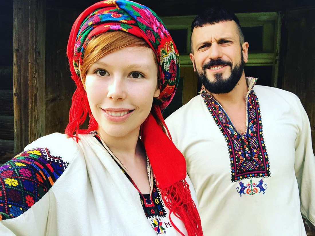 Соня Плакидюк и Ричард Горн