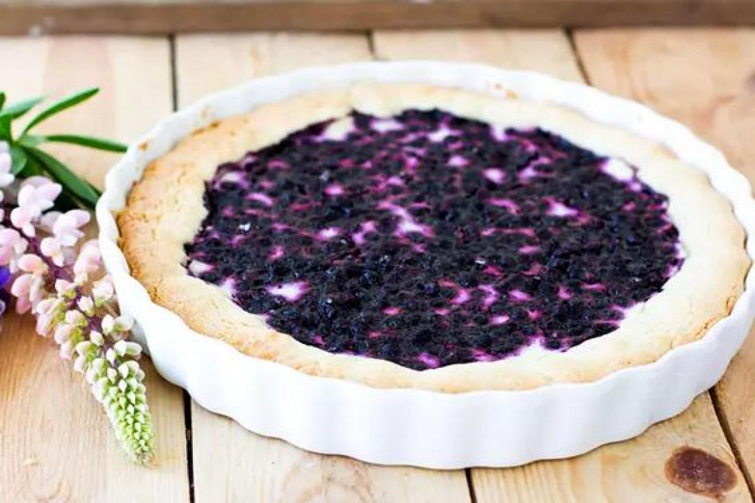 Кухни мира: Традиционный финский пирог с черникой