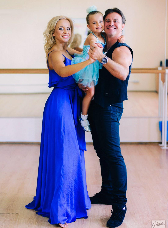 Семья танцоров: Лилия Ребрик с мужем Андреем Диким и дочкой Дианой