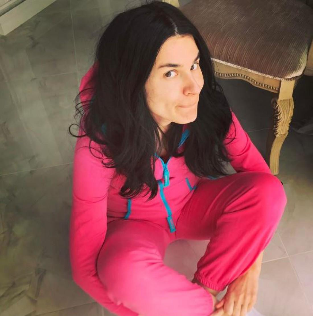 Маша Ефросинина в спортивном костюме