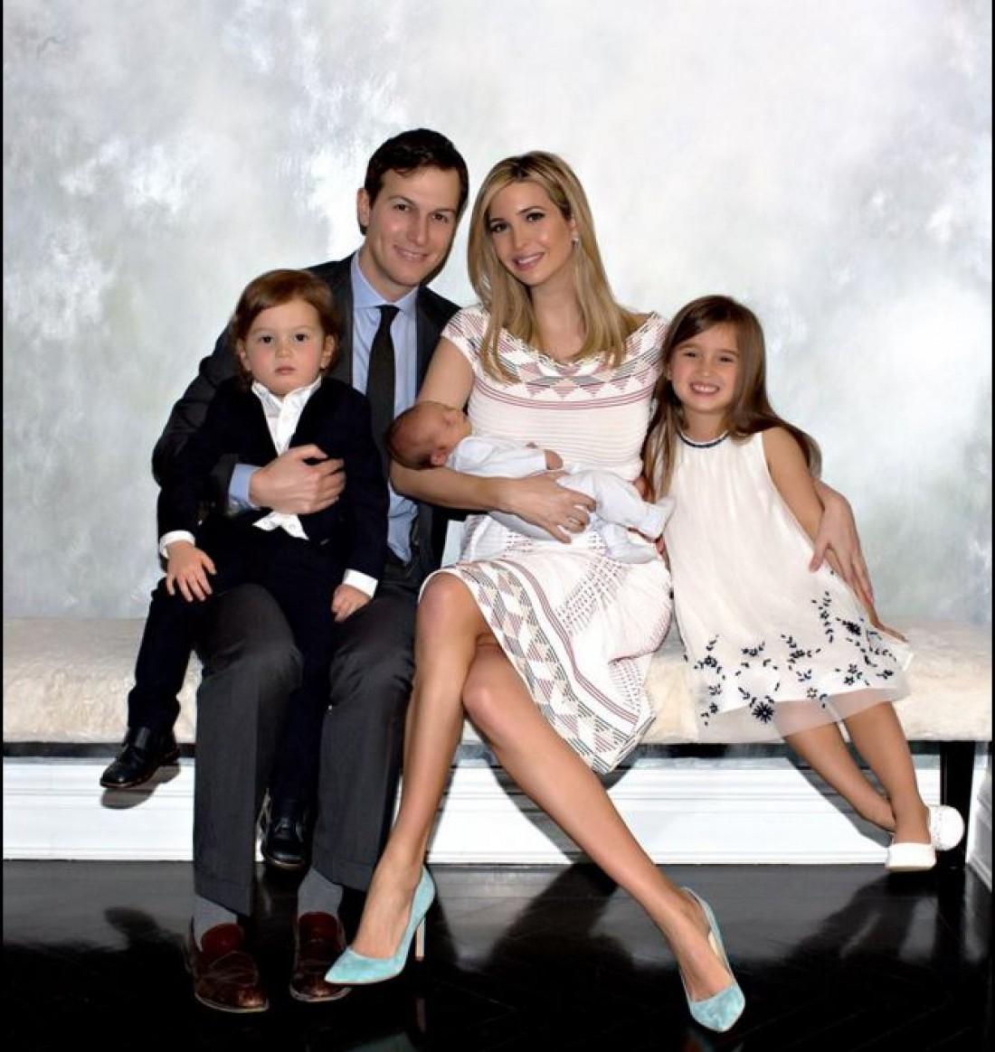 Семейное фото Иванки Трамп