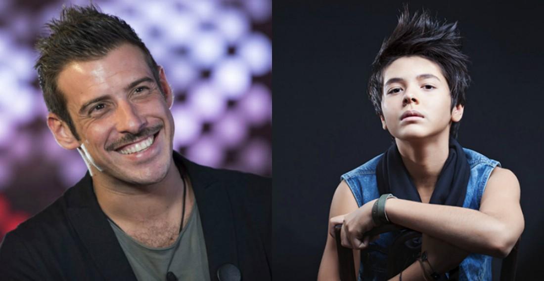 Фаворити Євробачення 2017: Франческо Габанні (зліва) та  Крістіан Костов