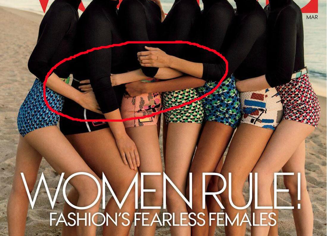 Мартовская обложка американского журнала Vogue