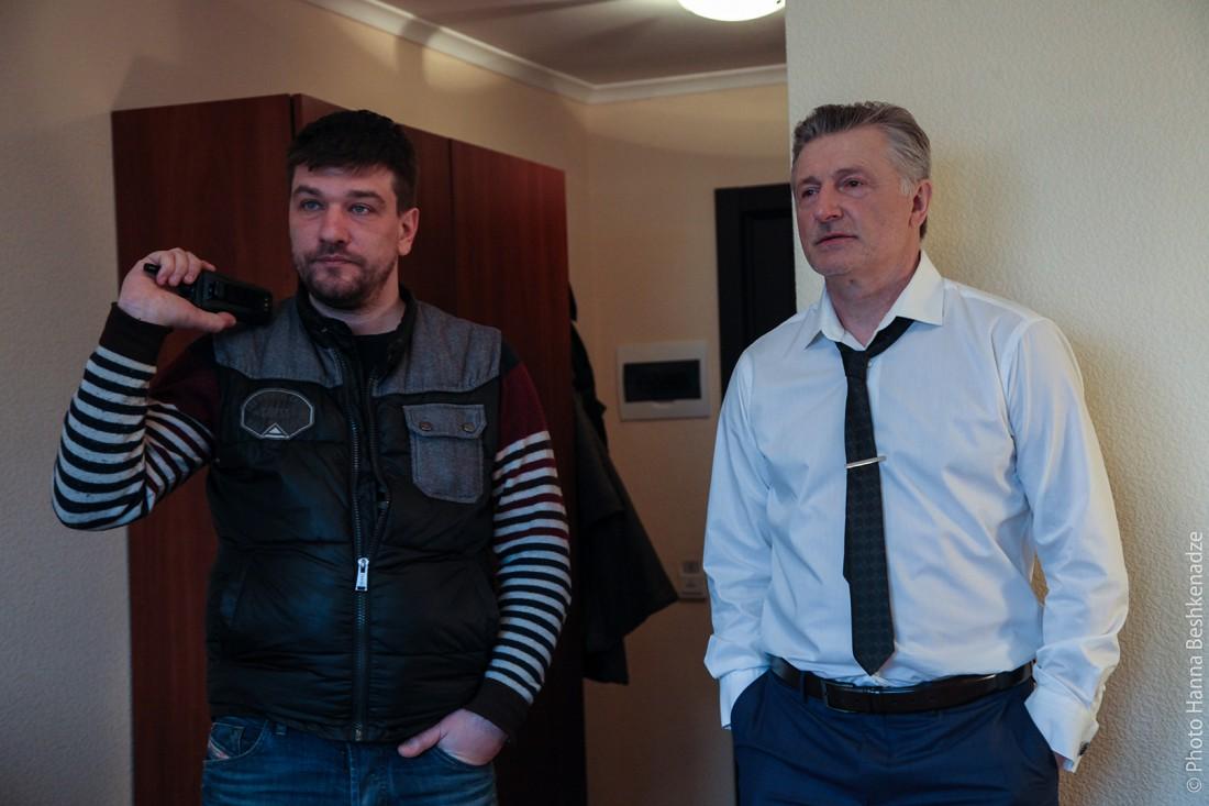 Станислав вместе с режиссером Алексеем Шапаревым