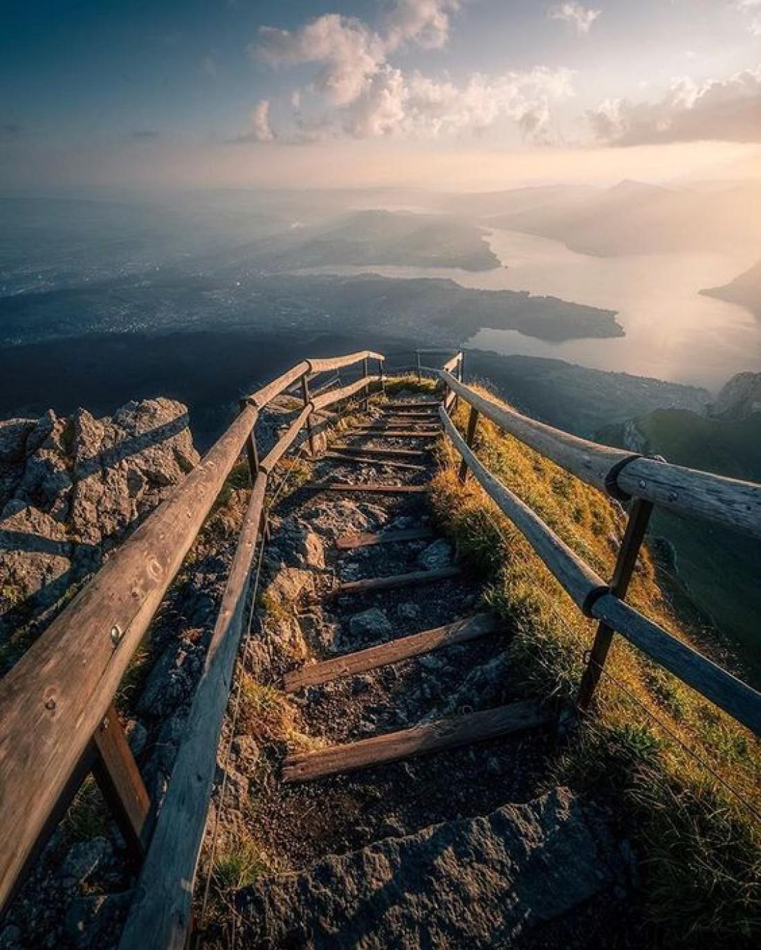 Крутые спуски по Пилатусу известны во всем мире