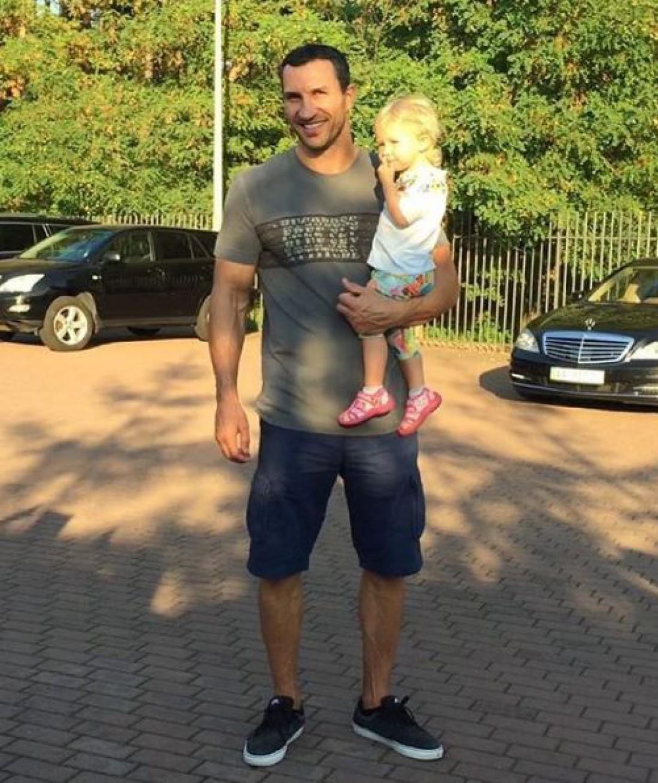 Владимир Кличко с дочерью
