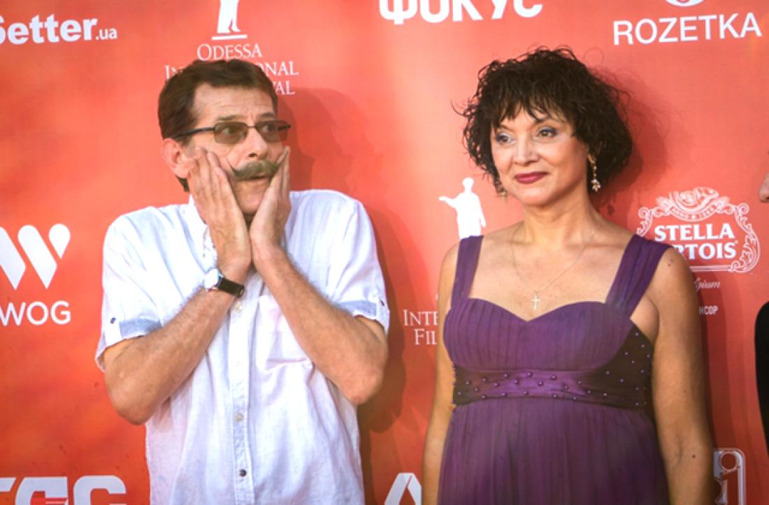 Борис Барский с женой Натальей