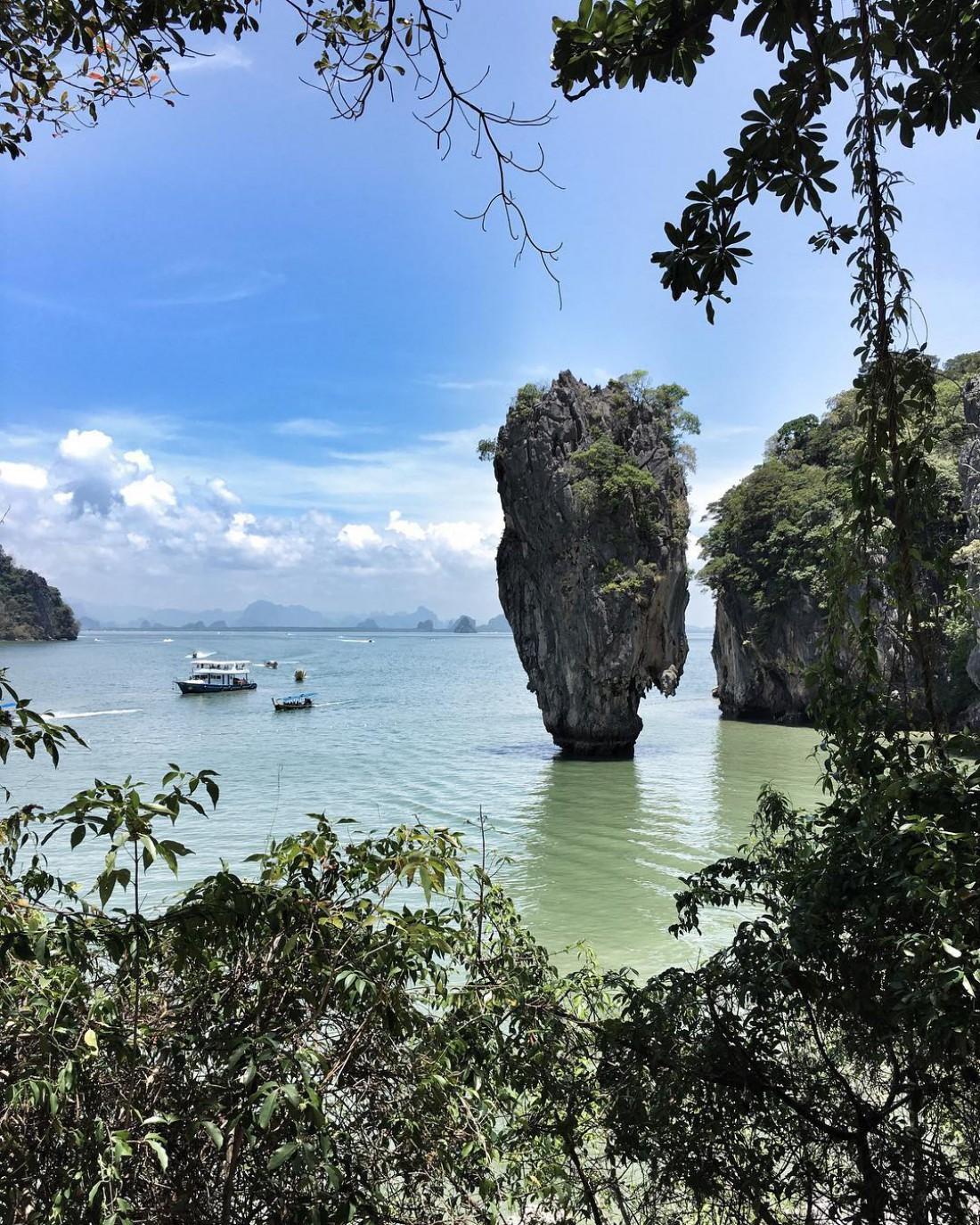 Остров Джеймса Бонда (Кхао Пинг Кан), Тайланд