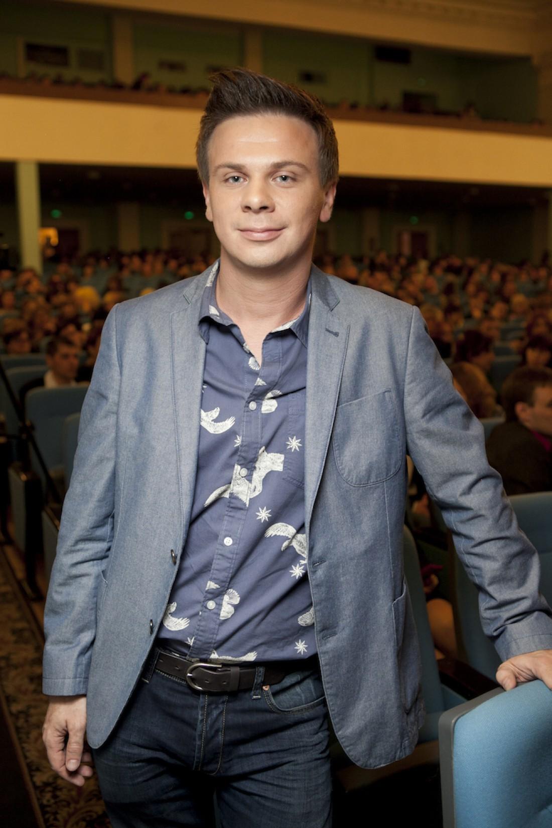 Ведущий Дмитрий Комаров поведал о личном