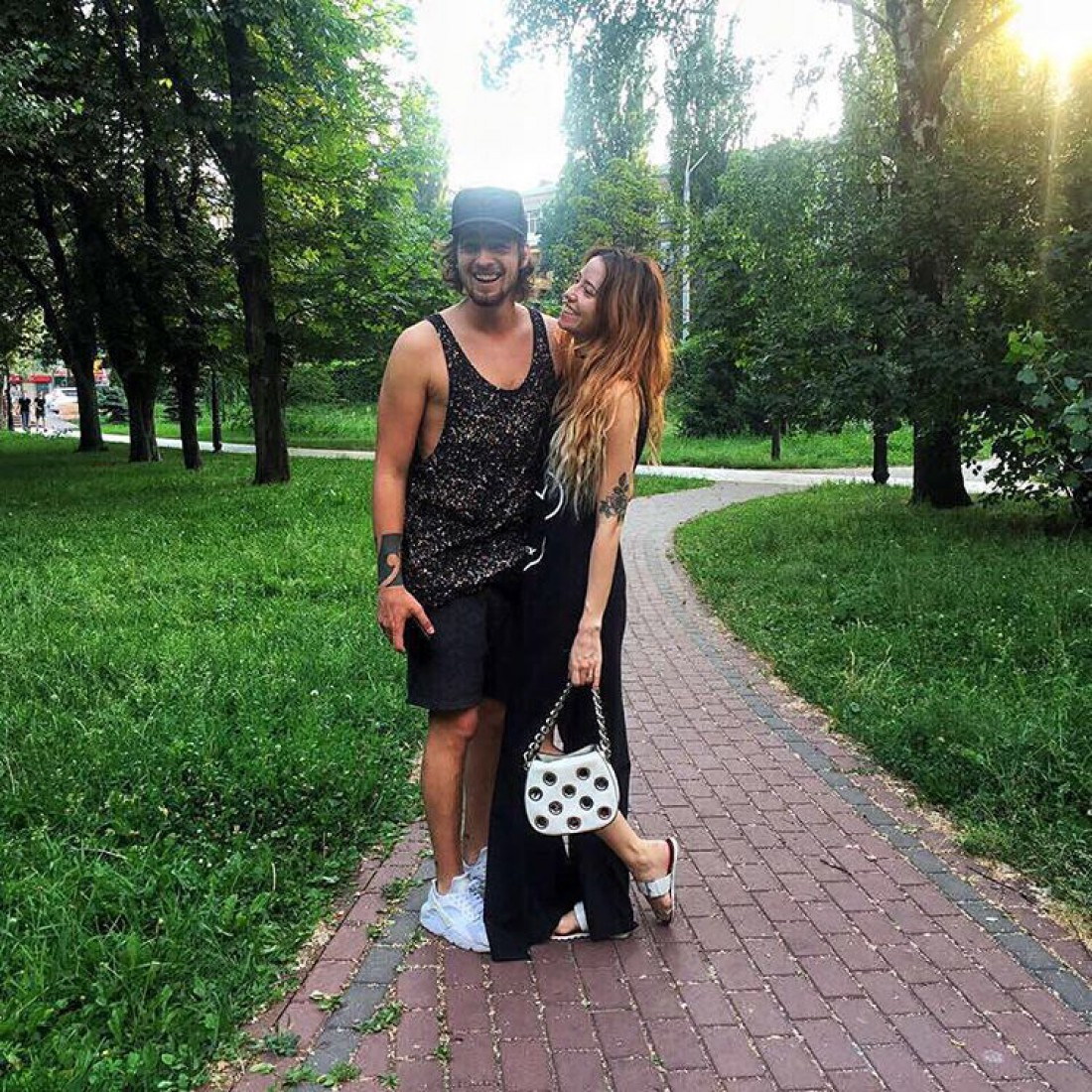 Владимир Дантес и Надя Дорофеева