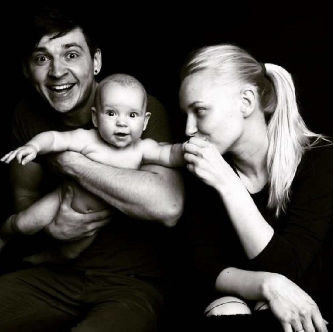 Екатерина Варченко с семьей