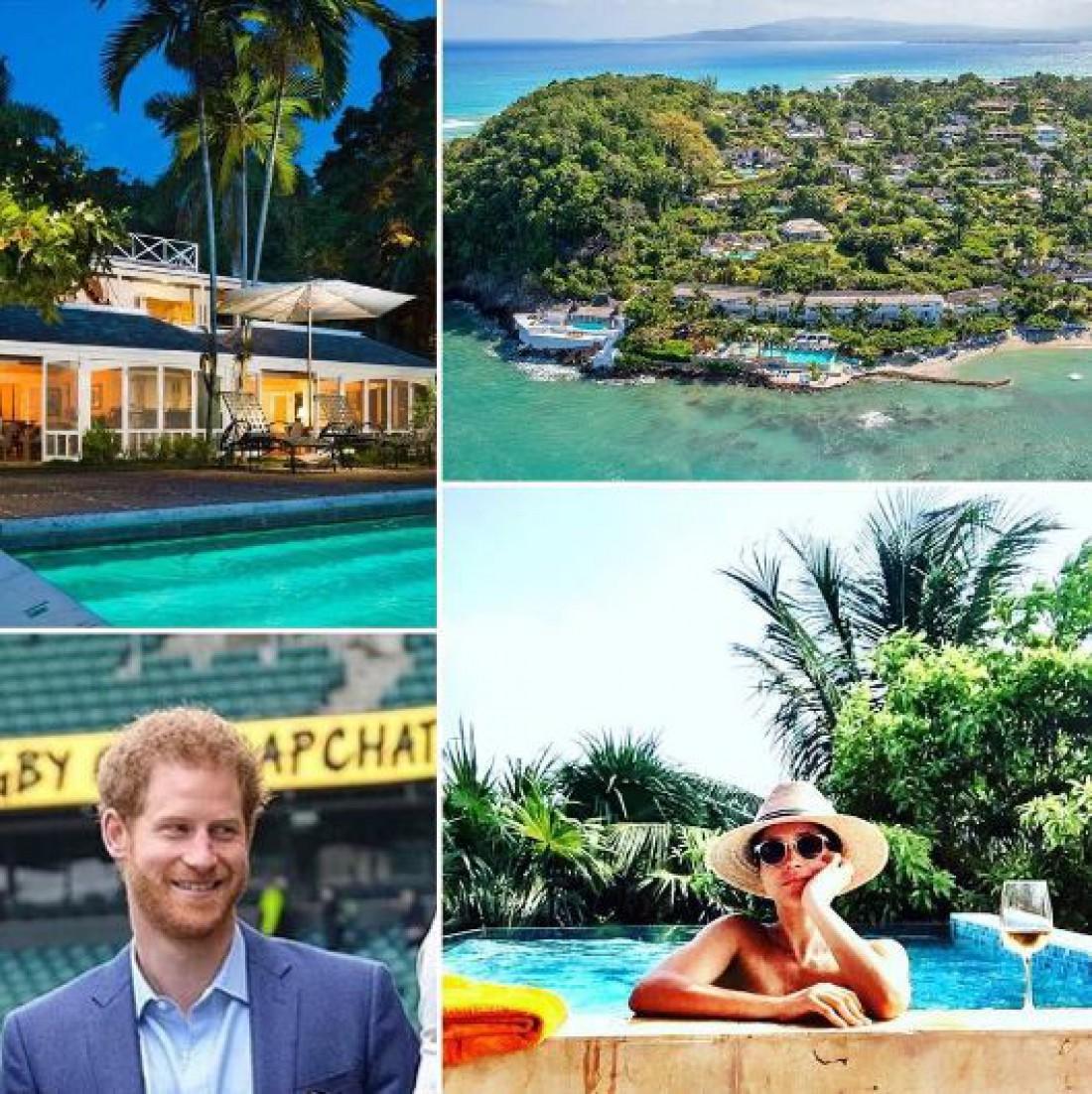 Принц Гарри и Меган Маркл на Ямайке