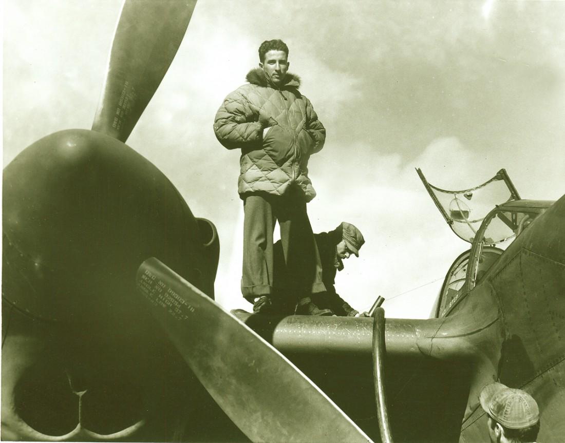 Стеганная куртка с пухом Эдди Бауэра использовалась и в армии