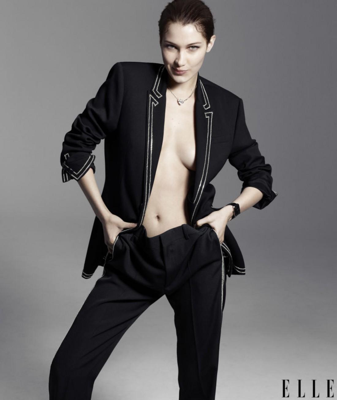 Модель Белла Хадид для Elle