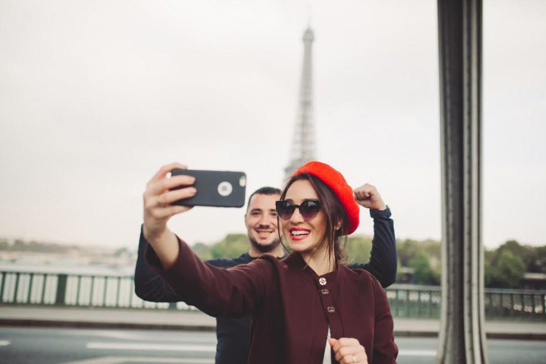 Наталка Карпа и Евгений Терехов в Париже
