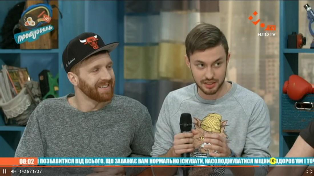 Феликс Аброскин и Дмитрий Соловьев
