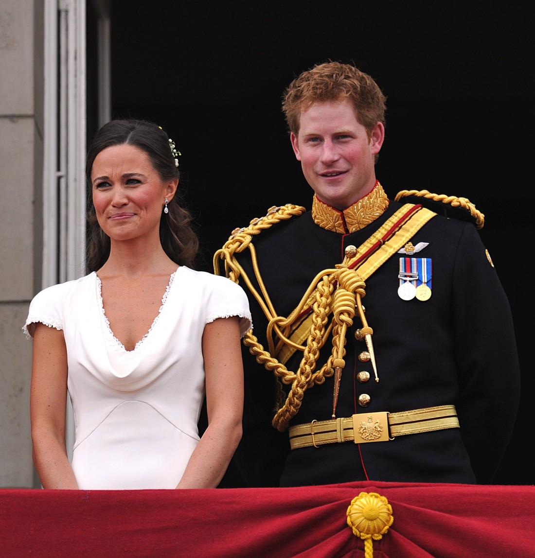 Пиппа и Гарри на свадьбе Кейт Миддлтон и принца Уильяма