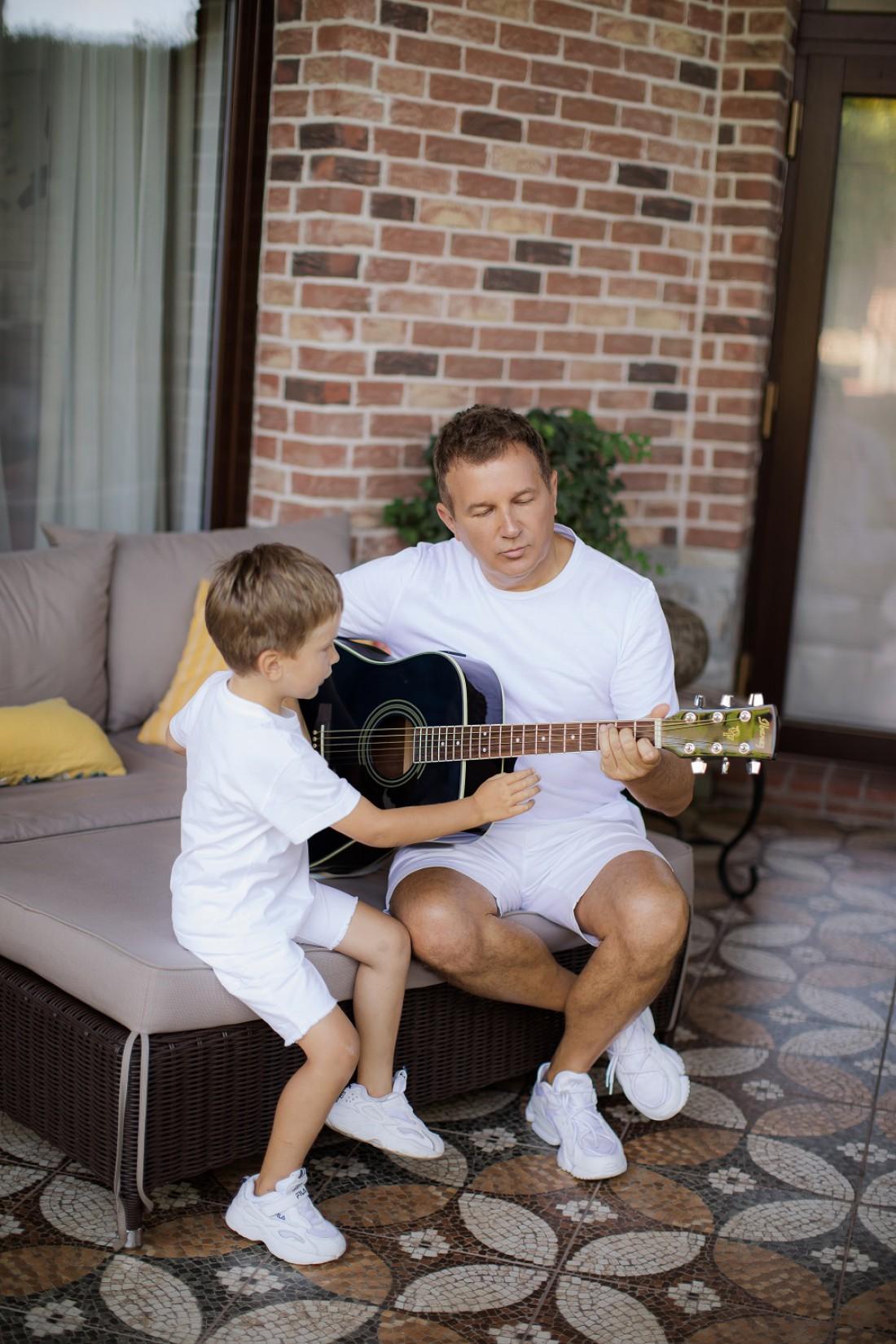 Юрий Горбунов с 4-летним сыном Иваном