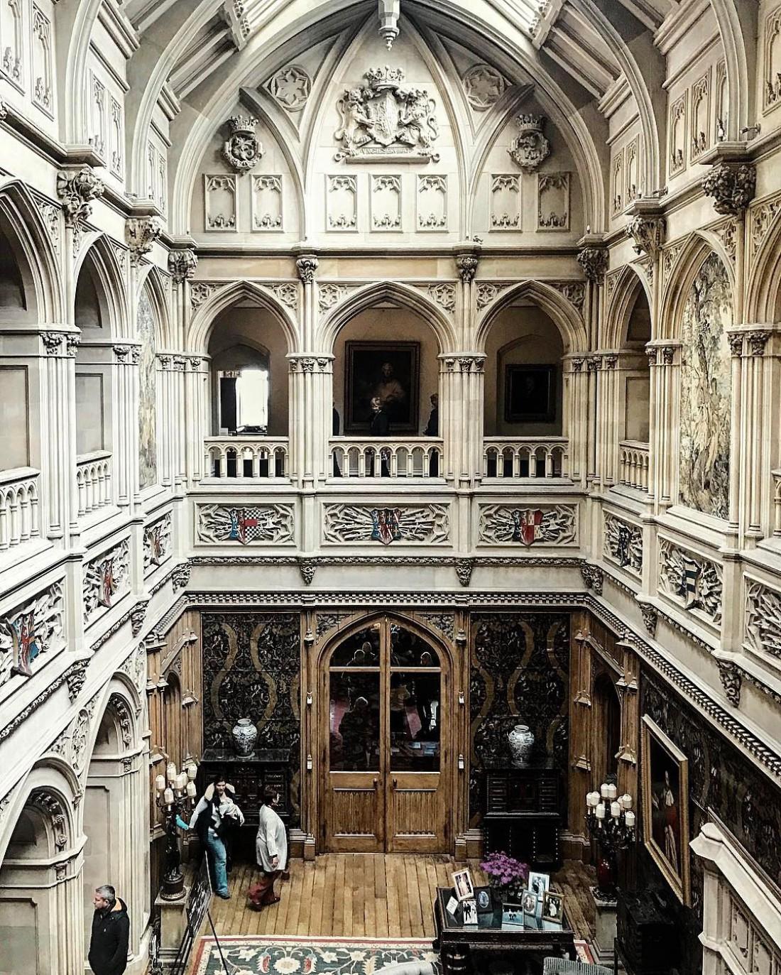 Замок Хайклер. Графство Хэмпшир, Великобритания