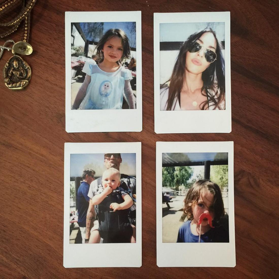 Меган Фокс и ее семья