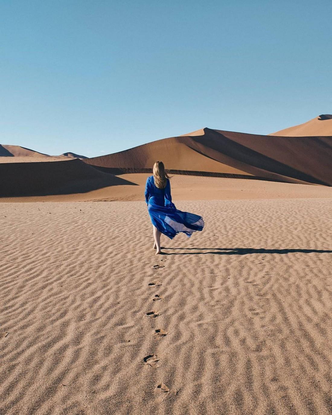 Тина Кароль снялась в Намибии для известного глянца