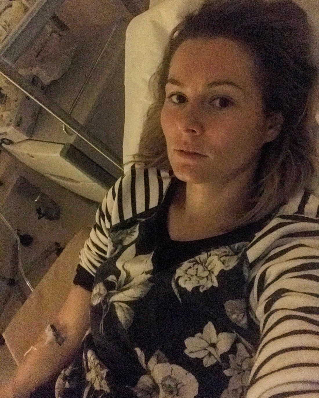 Кожевникова в больнице