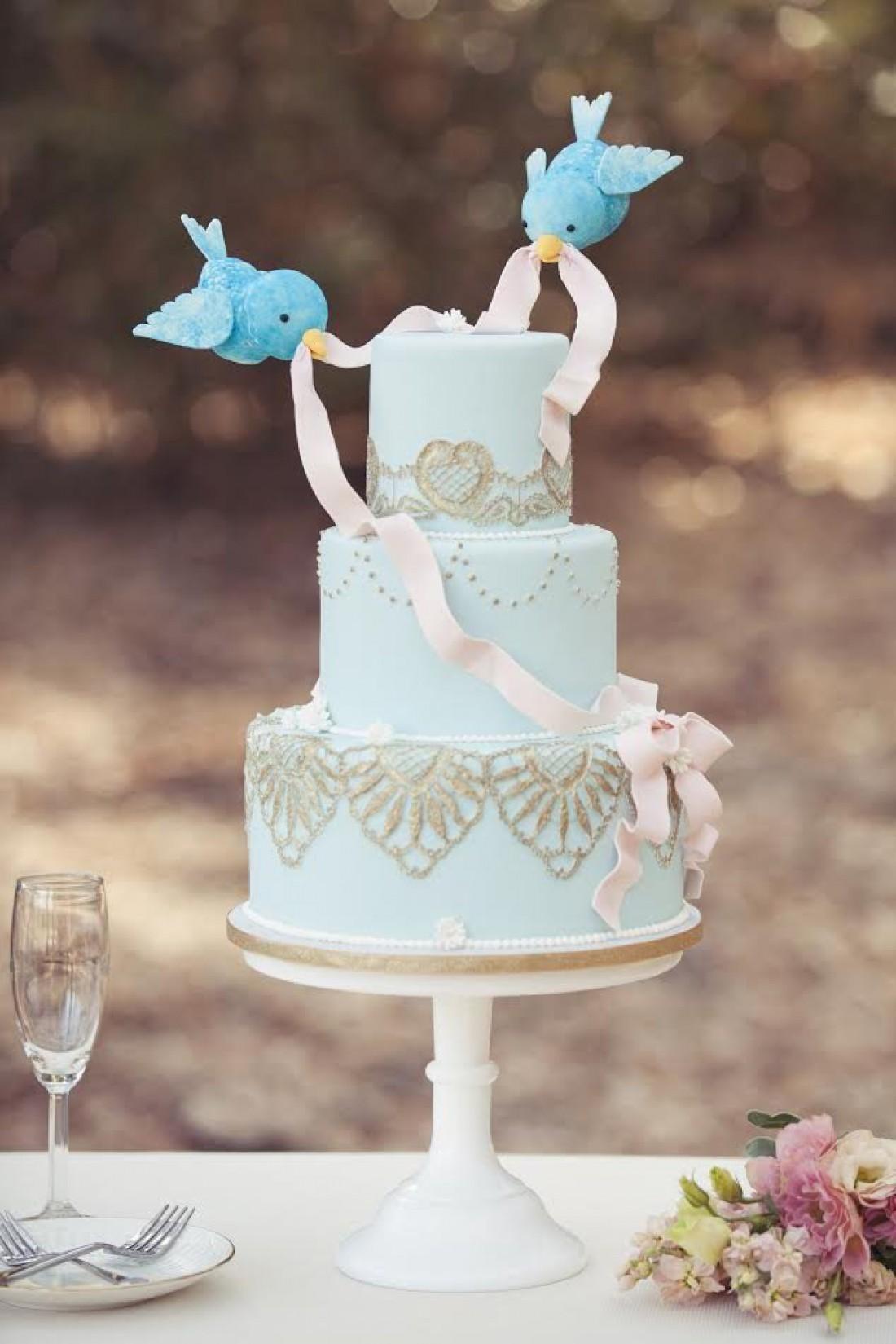 Свадебный торт в стиле Дисней