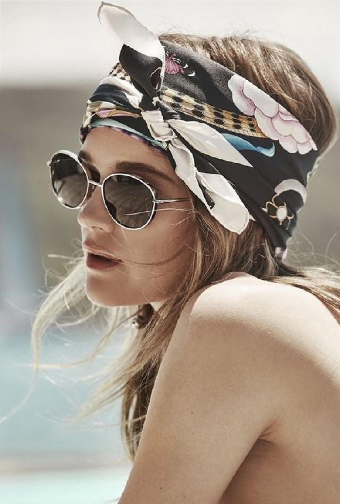 Тюрбан: как носить головной убор №1 лета 2019