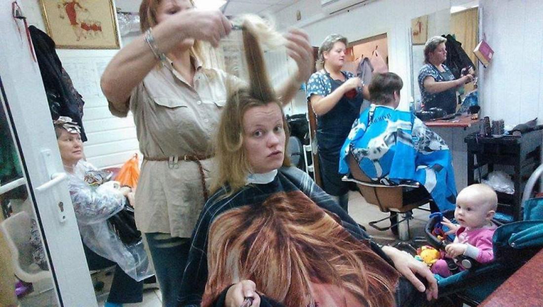 После поликлиники можно и в парикмахерскую заглянуть