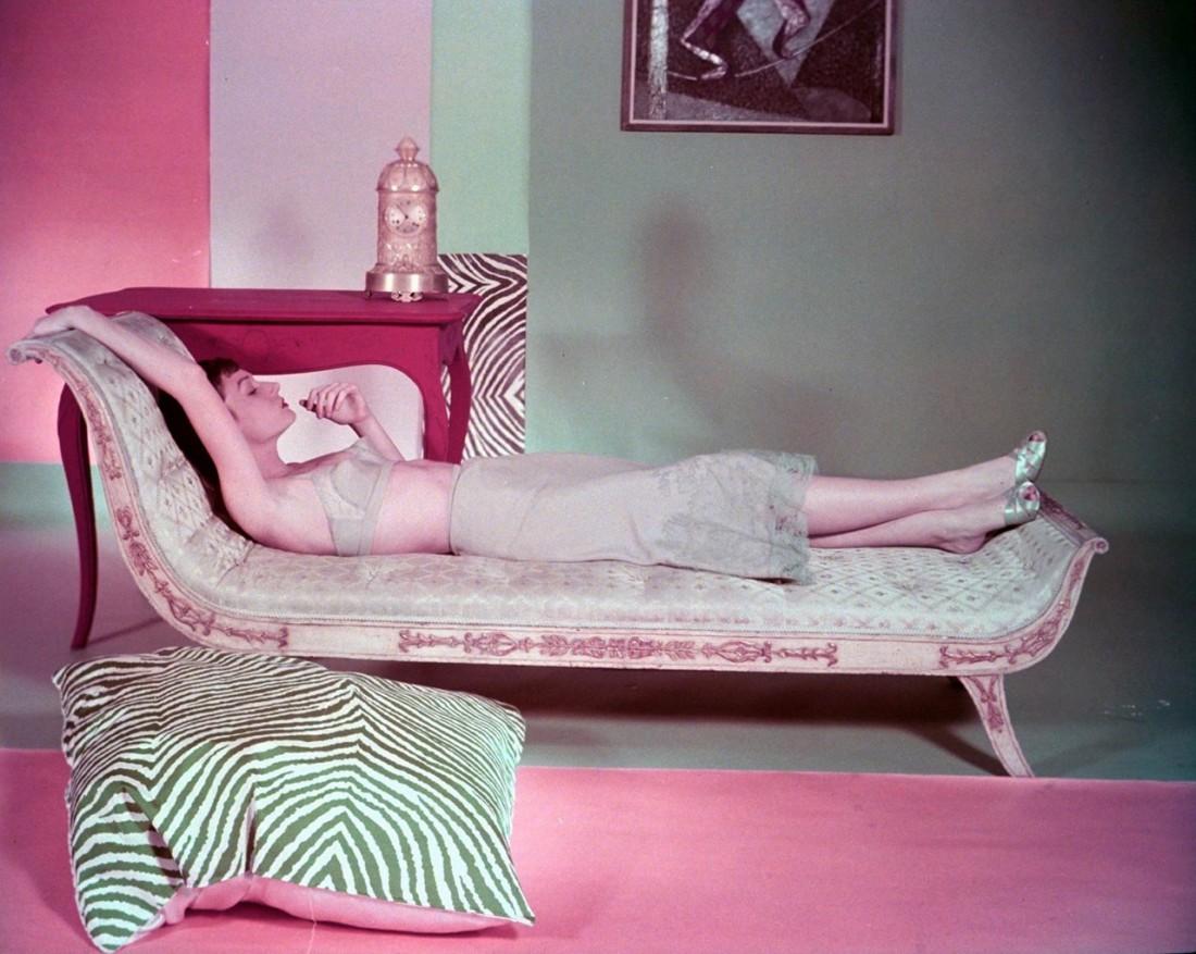 Фото Хорста в журнале Vogue, 1949 год