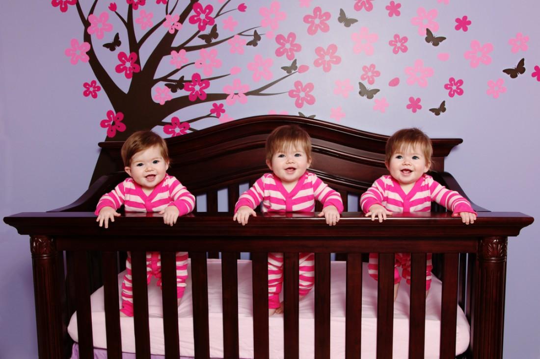 Малышки родились из одной зиготы