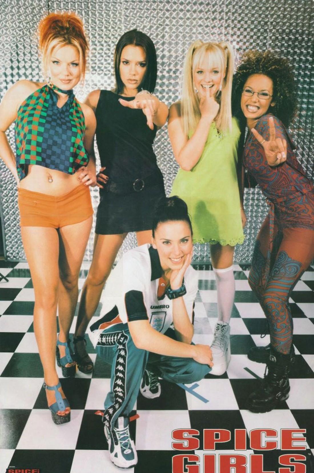 Постер с поп-звездами