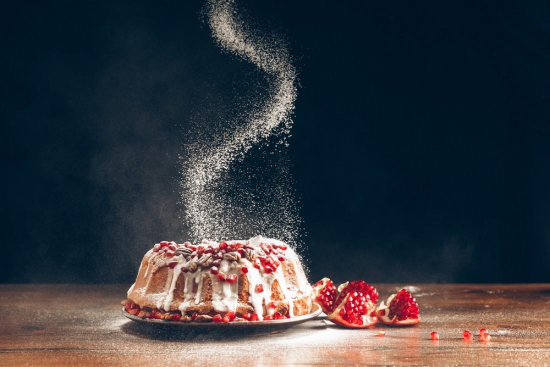 Английский рождественский кекс с орехами и сухофруктами: Пошаговый рецепт