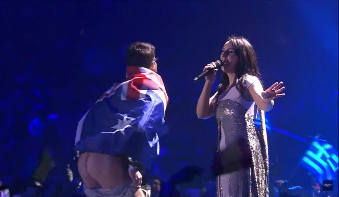 Выступление Джамалы на финале Евровидения 2017
